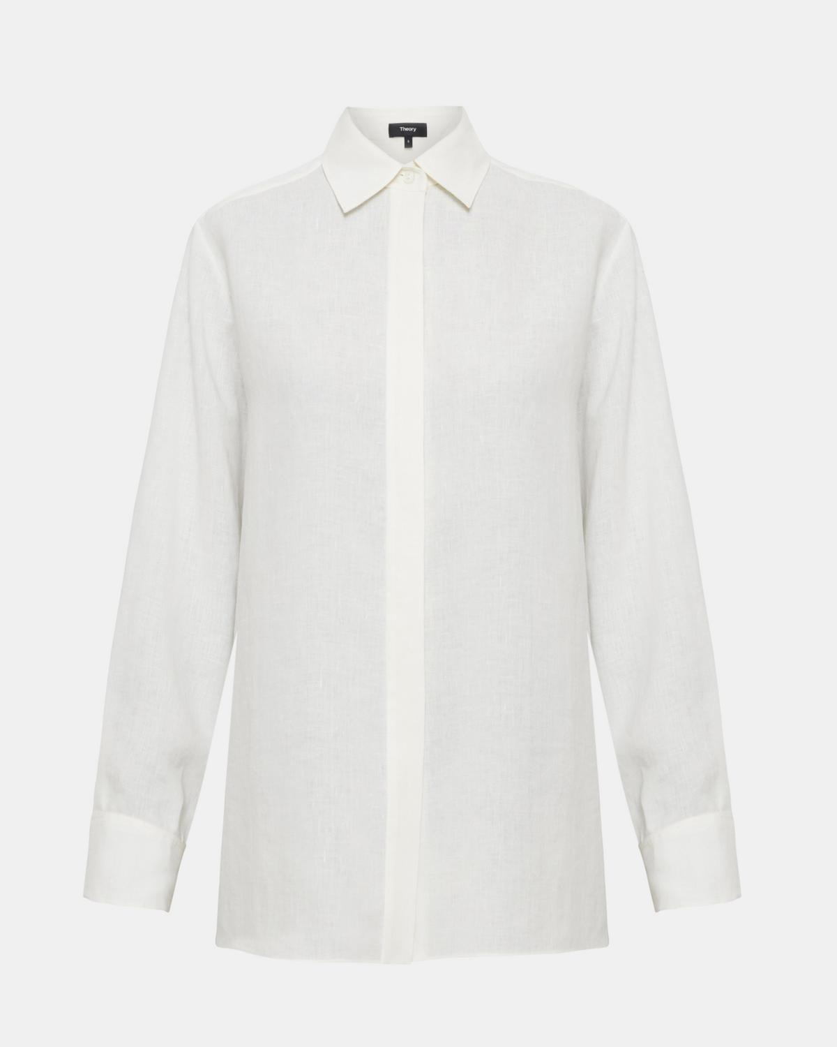 Pure Linen Menswear Shirt