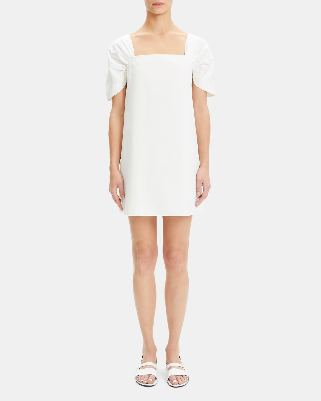 b58e5958c92 Classic Chino Draped-Sleeve Dress 0 - click to view larger image