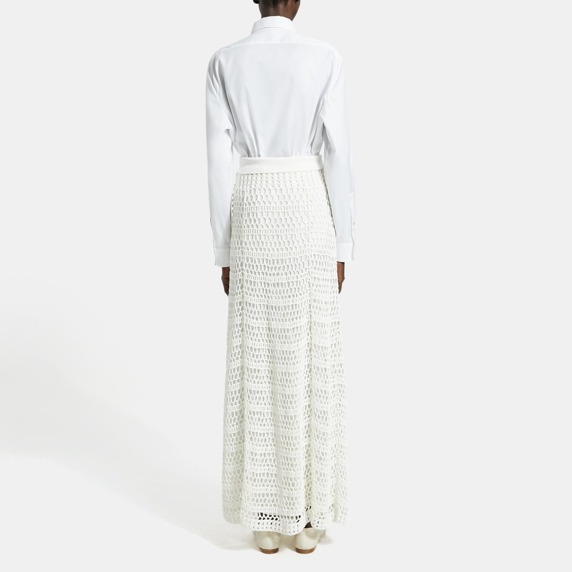 Crochet Maxi Skirt Theory