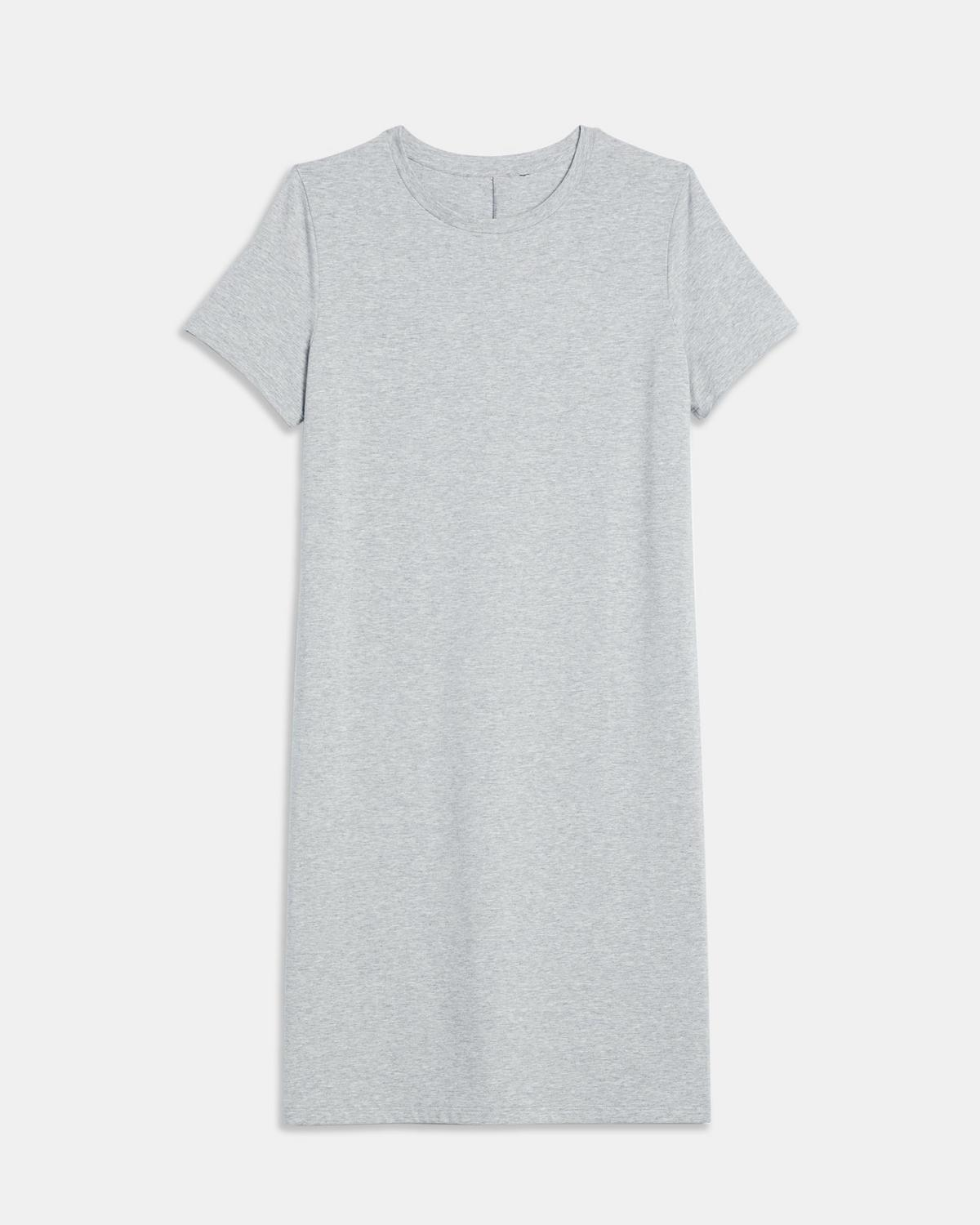 Cotton-Modal Continuous Tee Dress