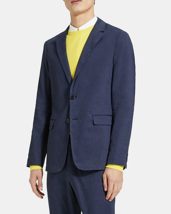 Unstructured Suit Jacket in Good Linen