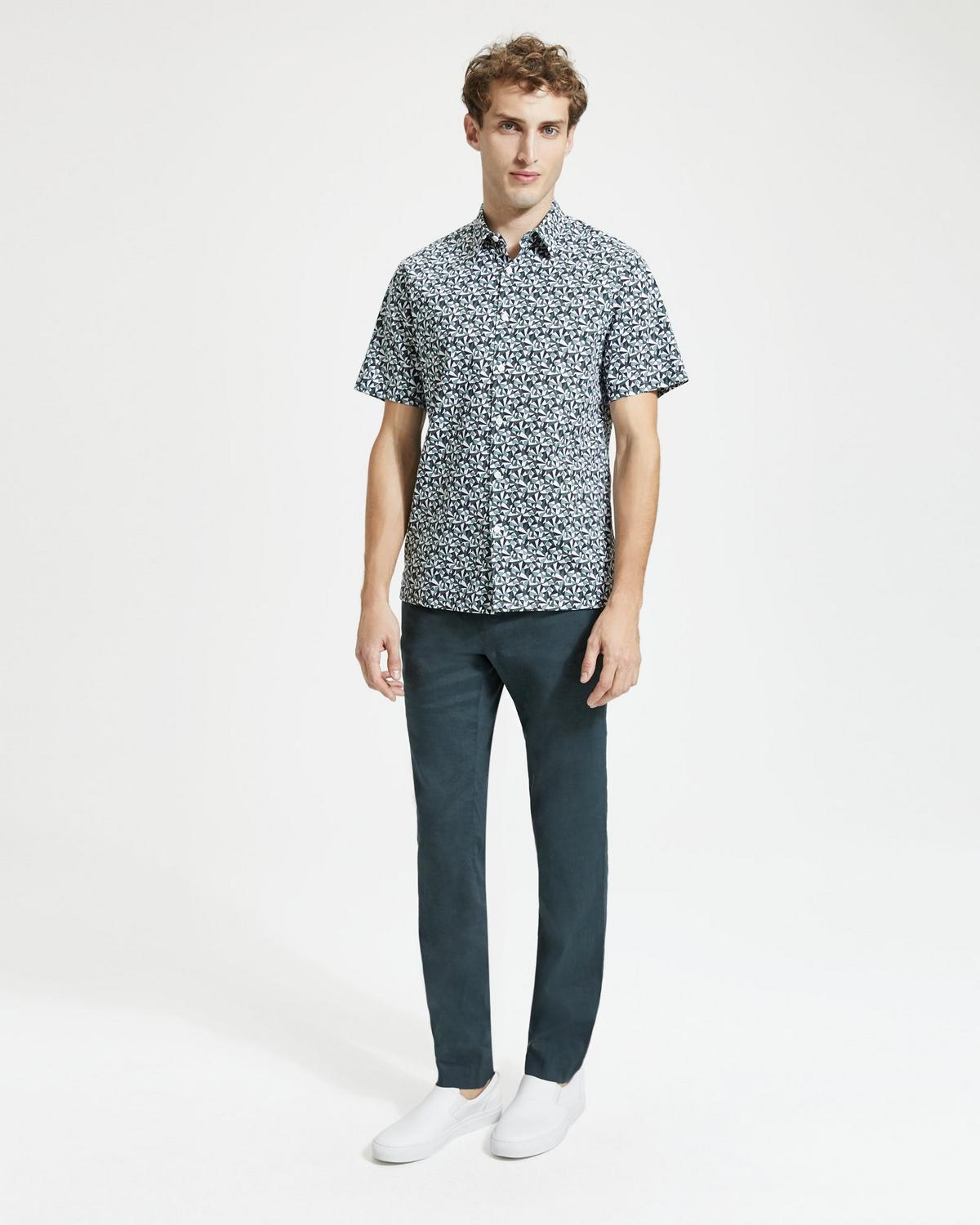 Abstract Print Irving Shirt