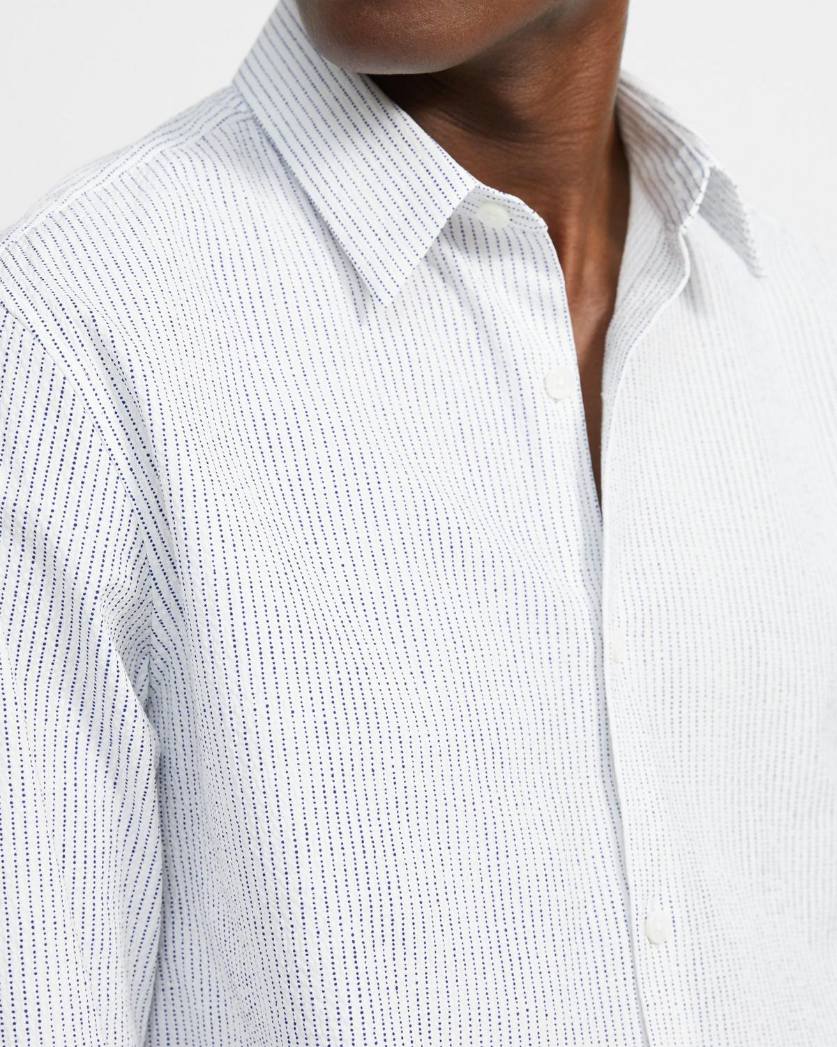 Cotton Striped Irving Shirt