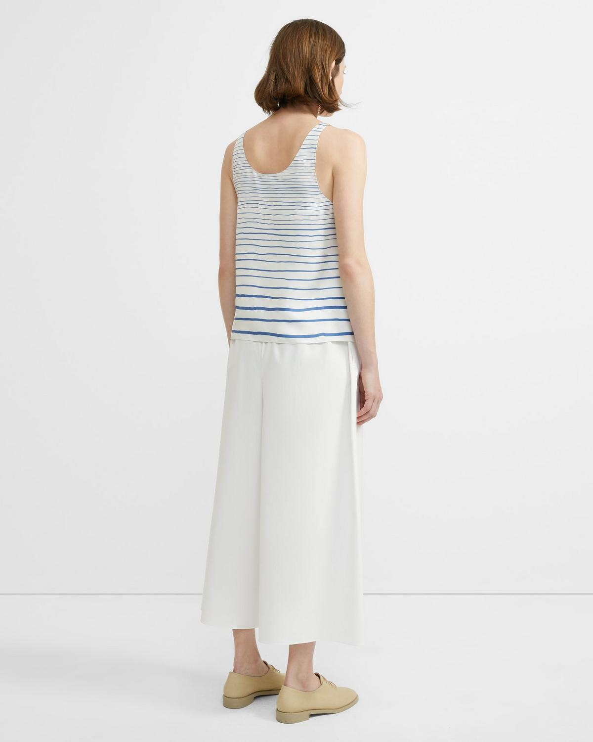 Striped Scoop Tank Top