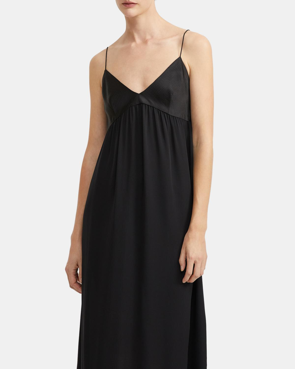 Combo Slip Dress in Silk
