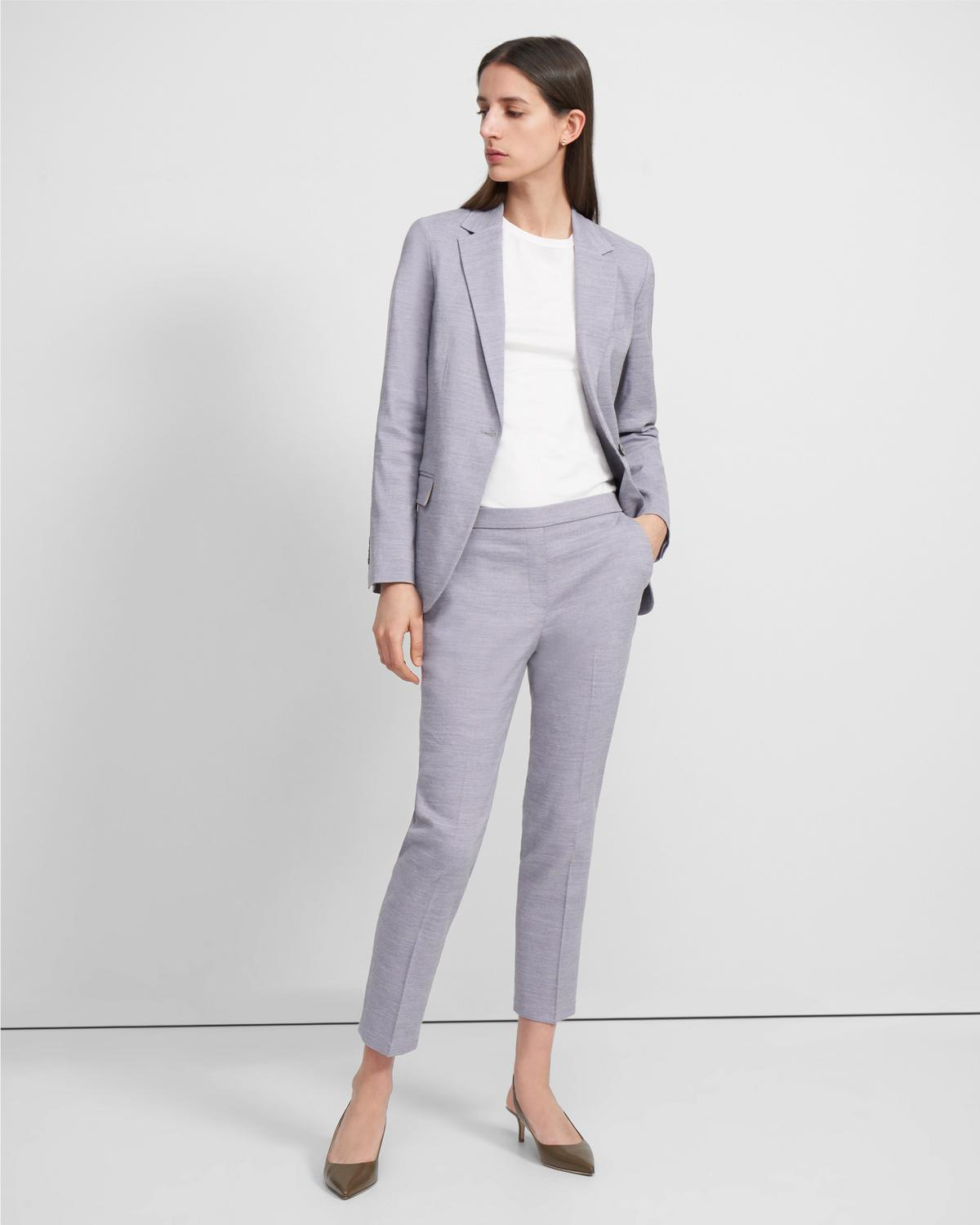 Staple Blazer in Textured Good Linen