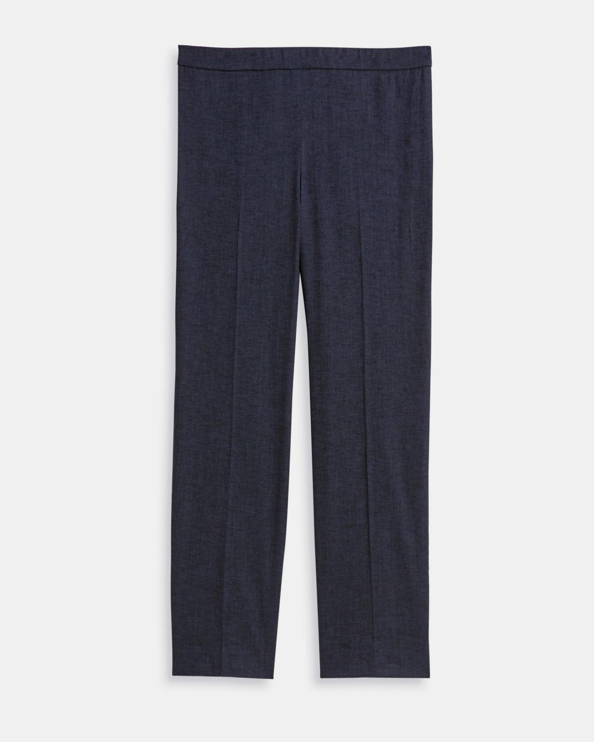 Basic Pull-On Pant in Textured Good Linen