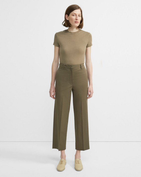 f682e72aed618 Stretch Chino High-Waisted Straight Pant
