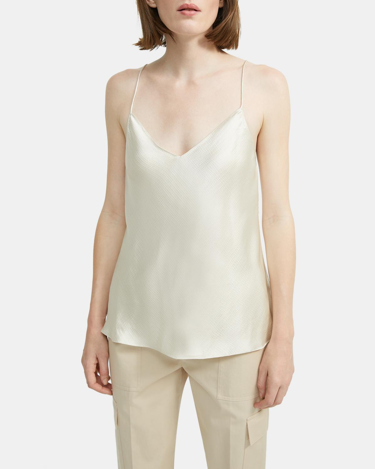 Hammered Viscose Easy Slip Top