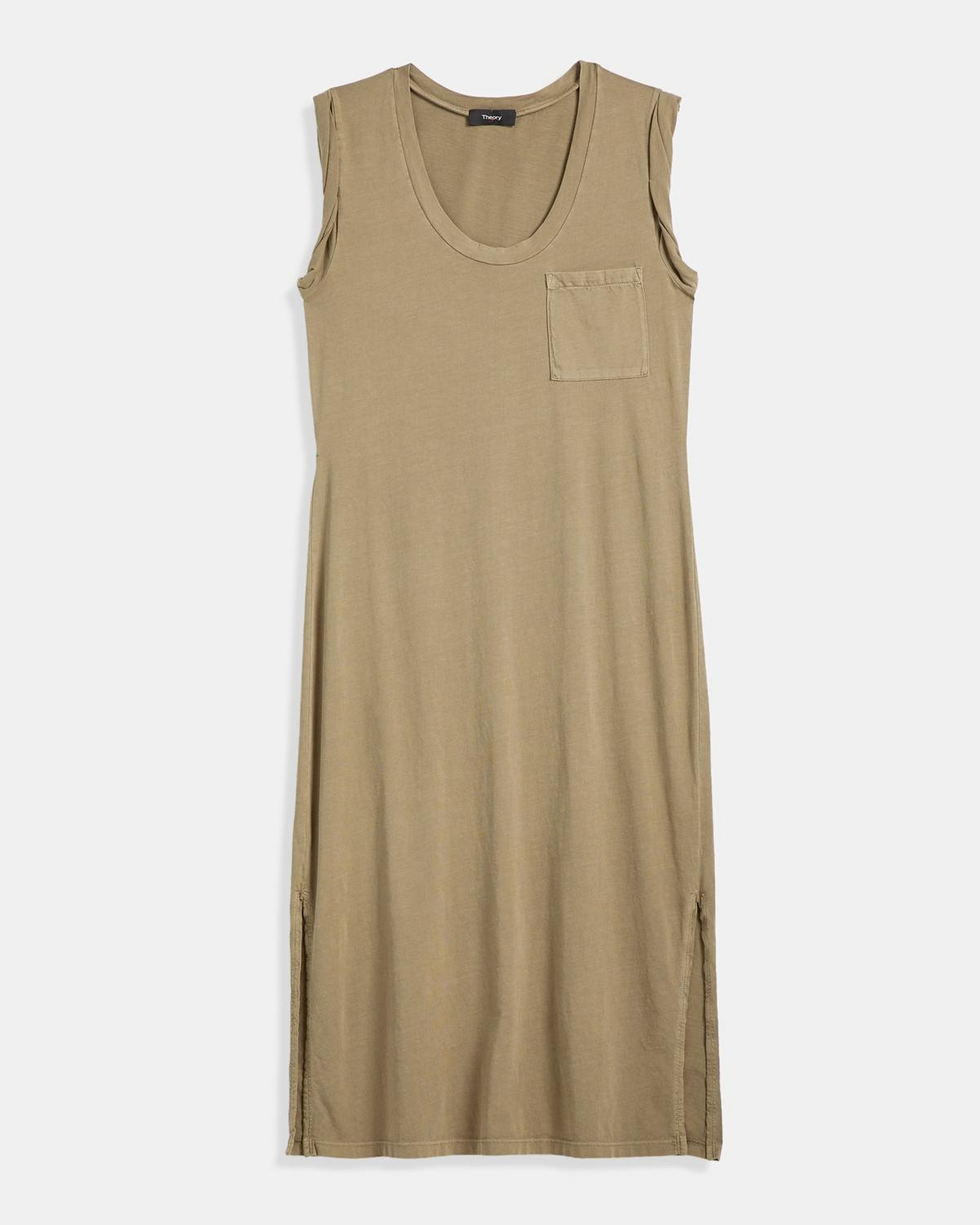 Muscle Tee Dress in Cotton
