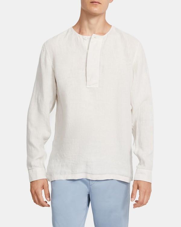 띠어리 맨 린넨 셔츠 Theory Henri Shirt in Linen,MORTER