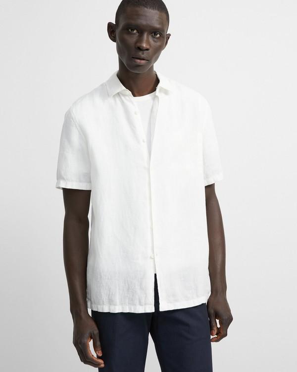 34ee4b22e6 Summer Linen Short-Sleeve Irving Shirt