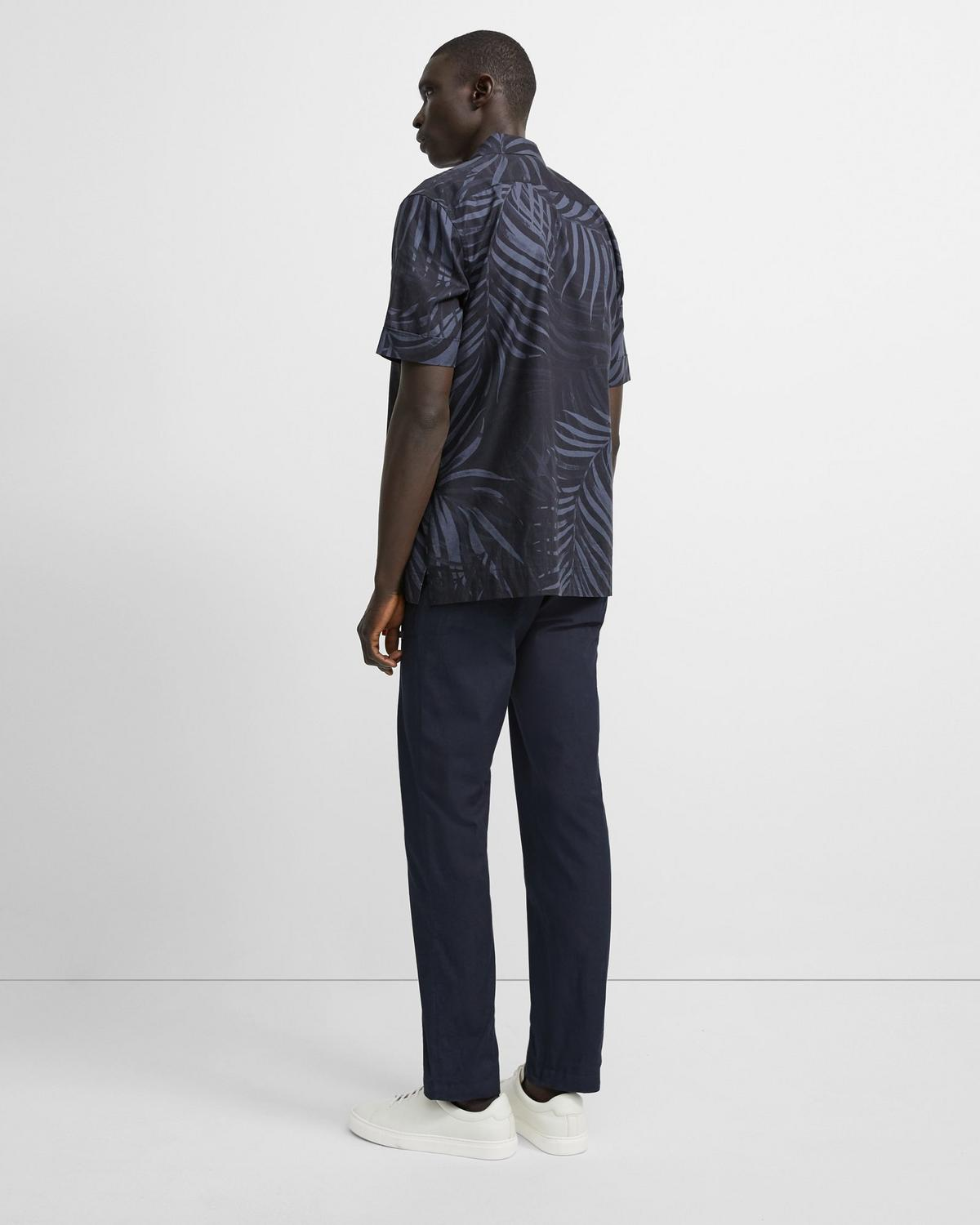 Palm Print Menlo Shirt