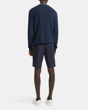 Crewneck Sweater in Linen Blend