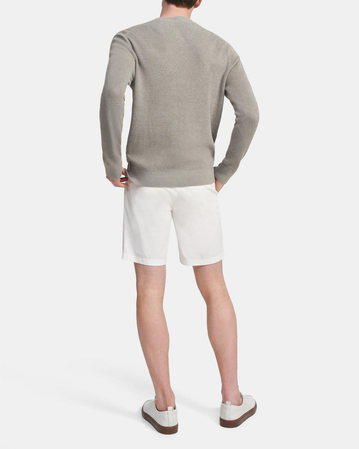 Crewneck Sweater in Linen Blend