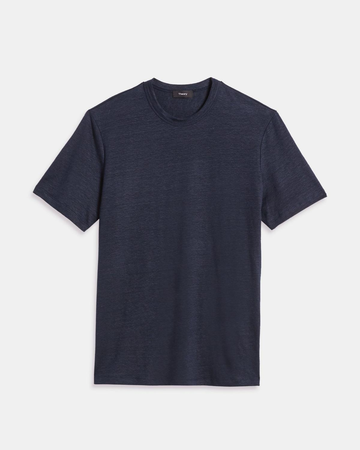 Stretch Linen Essential Tee
