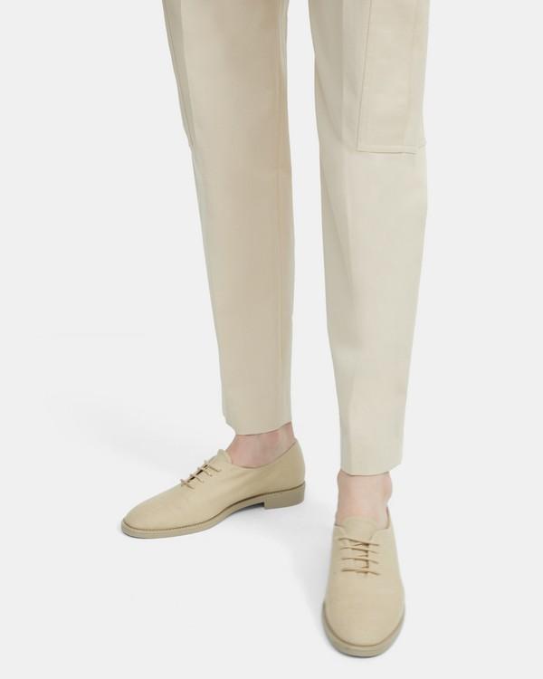 띠어리 슬립온 Theory Linen Lace-Up Shoe