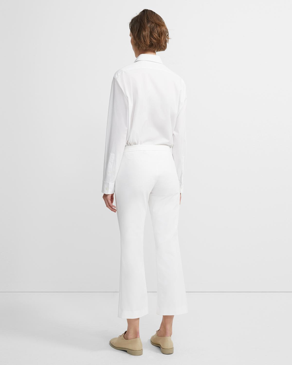 Double Stretch Cotton Crop Pant