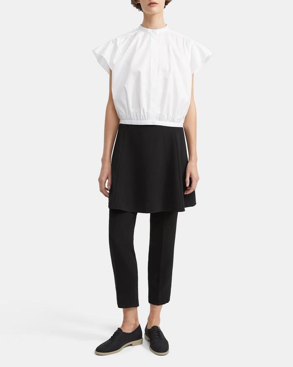 1fb92a3059d Shirred Yoke Short-Sleeve Shirt