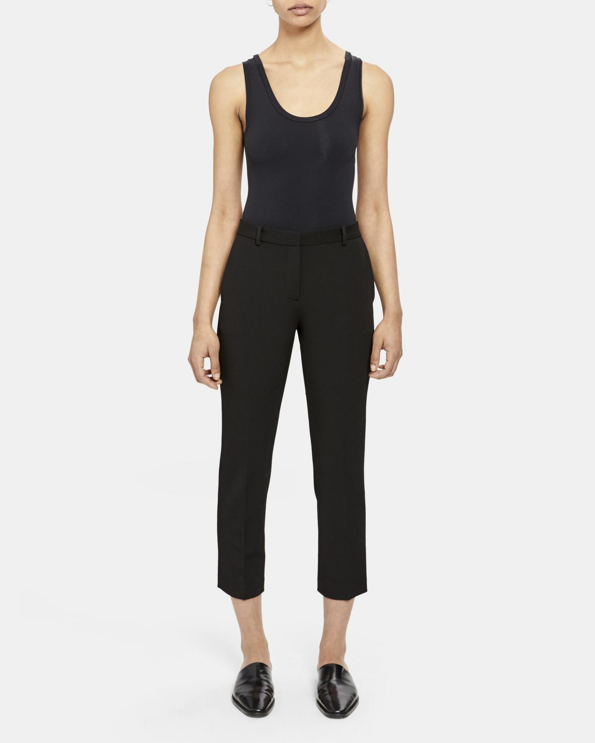 Treeca Pant in Stretch Knit