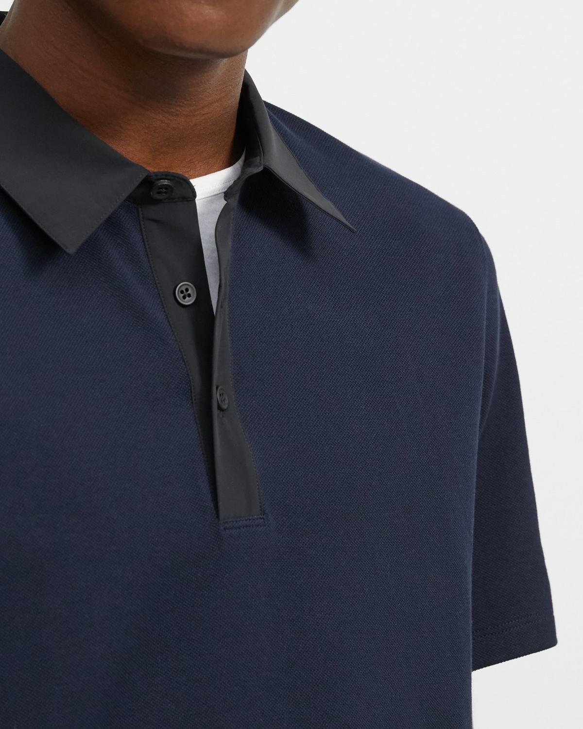 Tech Polo Shirt in Function Pique