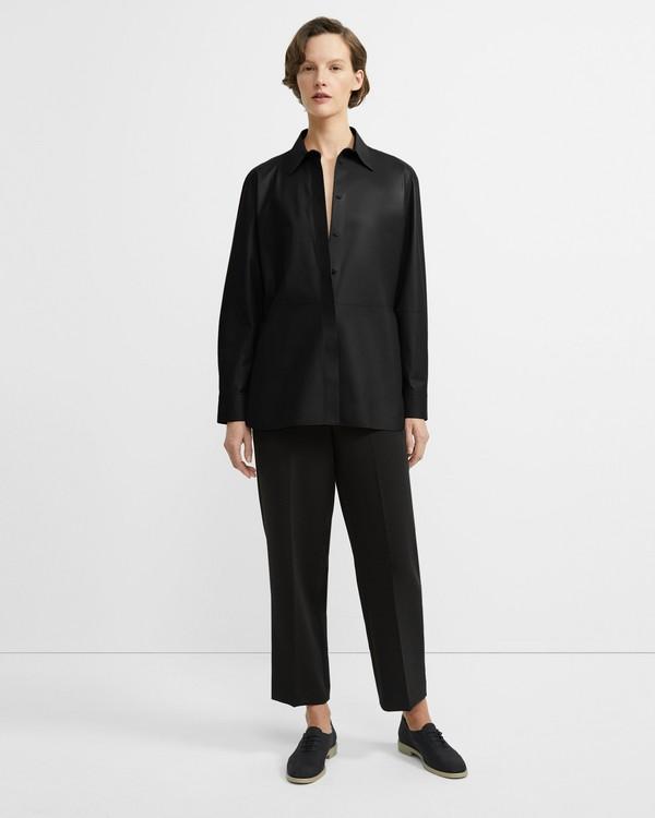 4490f86c Nappa Leather Menswear Shirt