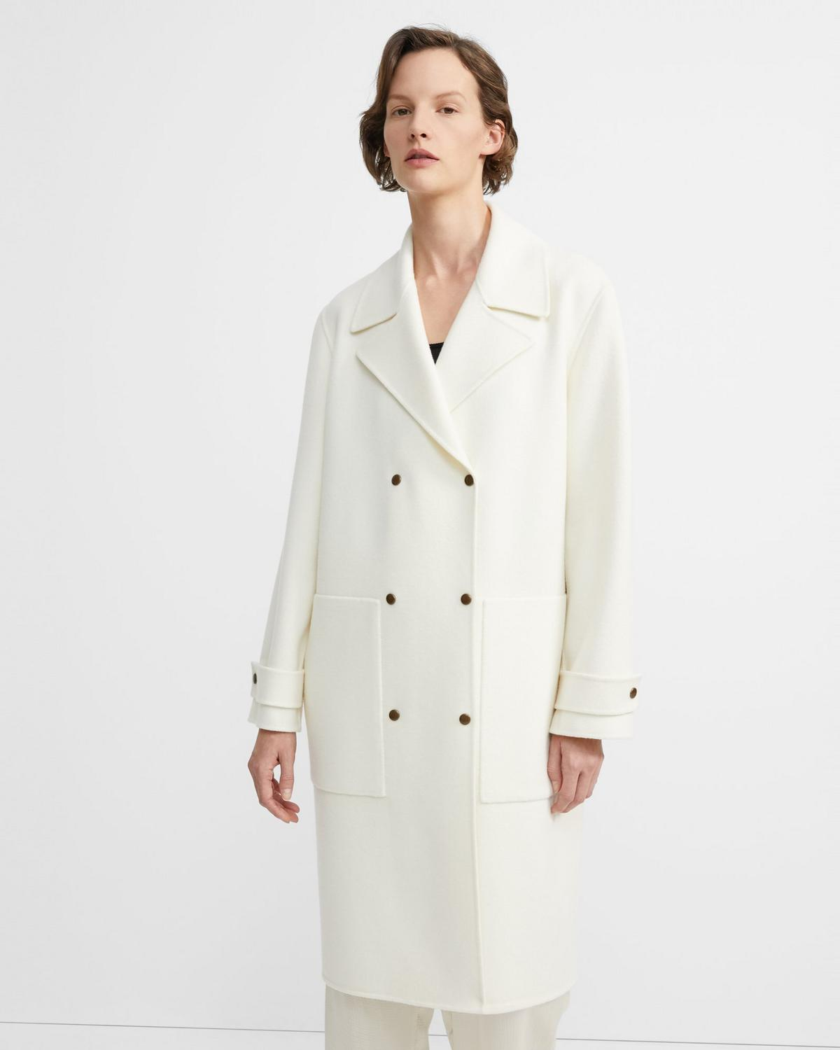 b5a9b447220 Double-Faced Military Trench | Theory