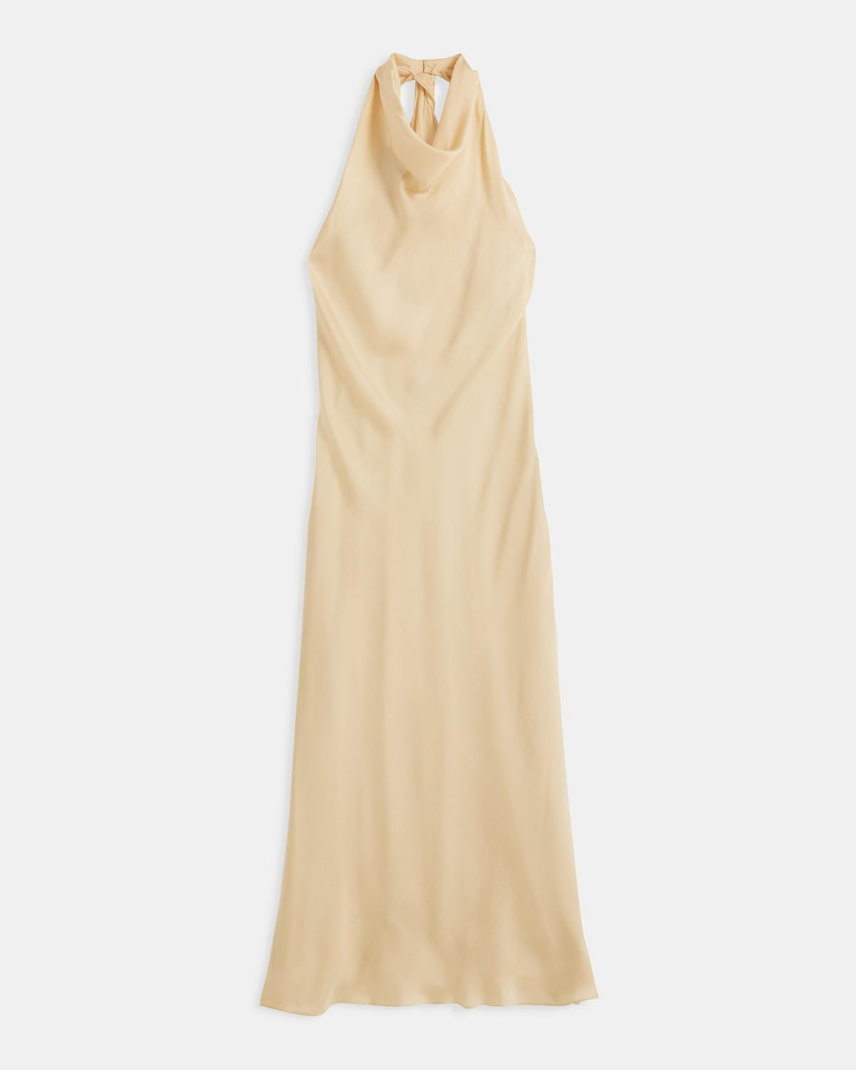 Easy Twist Dress in Silk Charmeuse