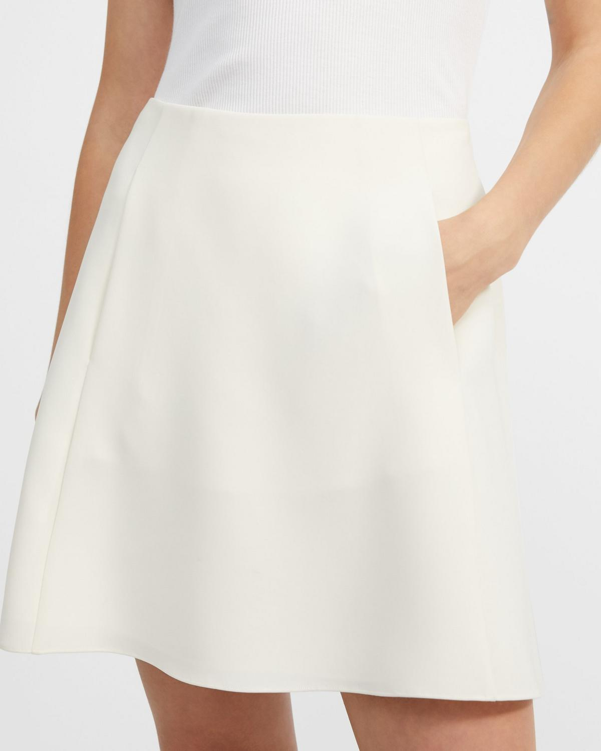 Volume Mini Skirt