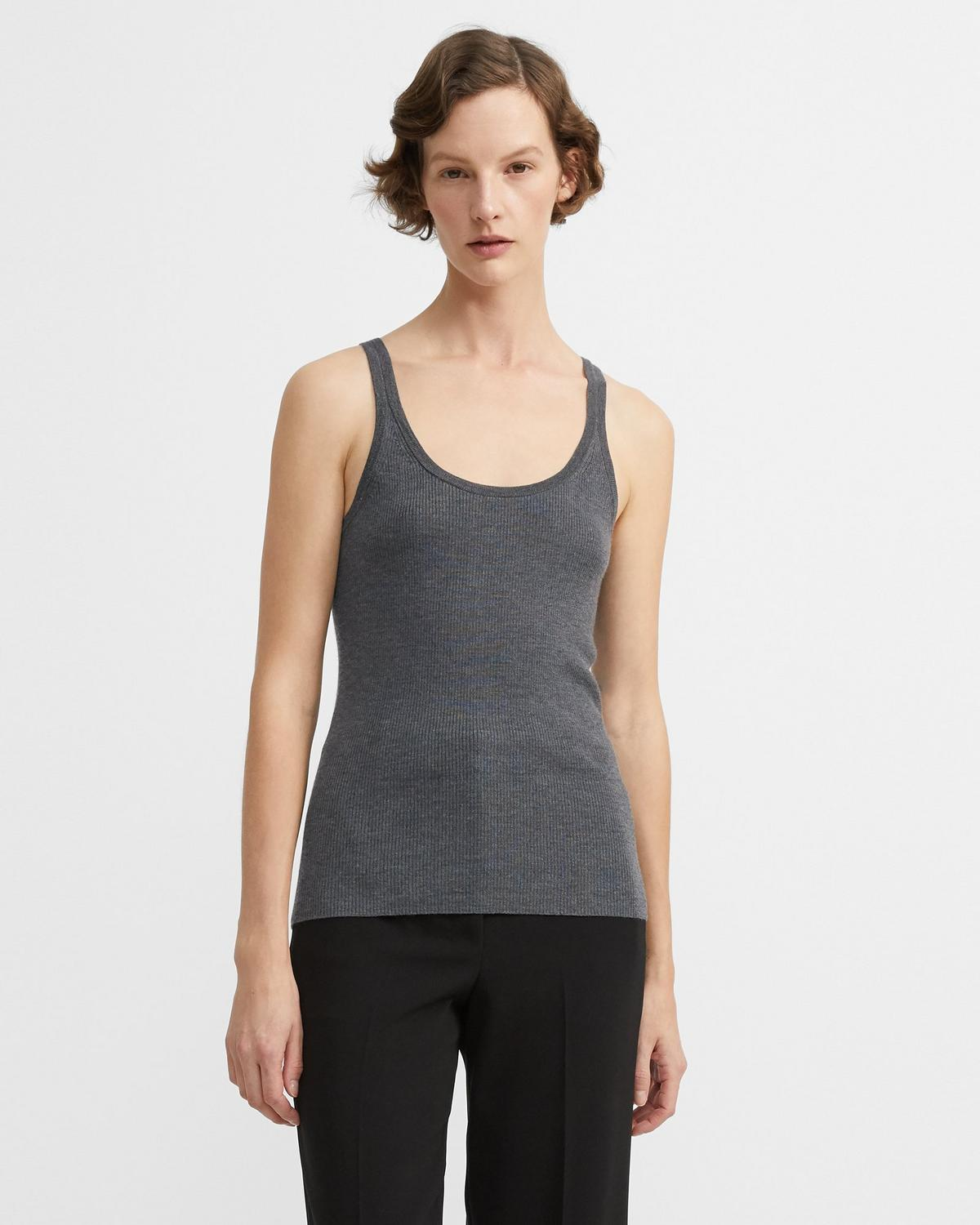 Silken Knit Basic Tank