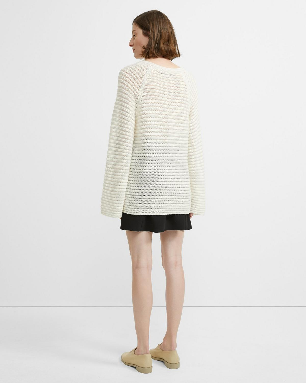 Cashmere Striped Pullover