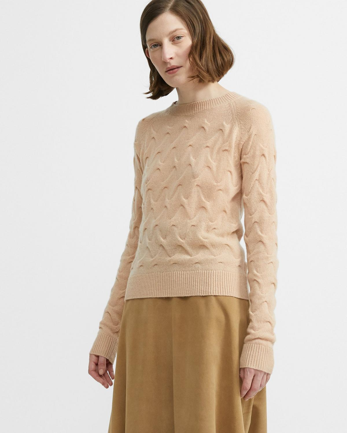 Cashmere Tucked Sweater