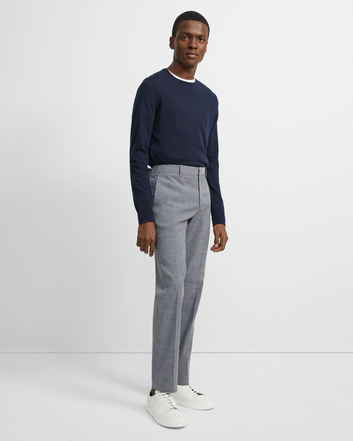 Mayer Pant in Slub Linen