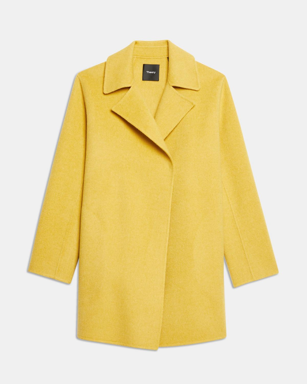 Double-Faced Overlay Coat