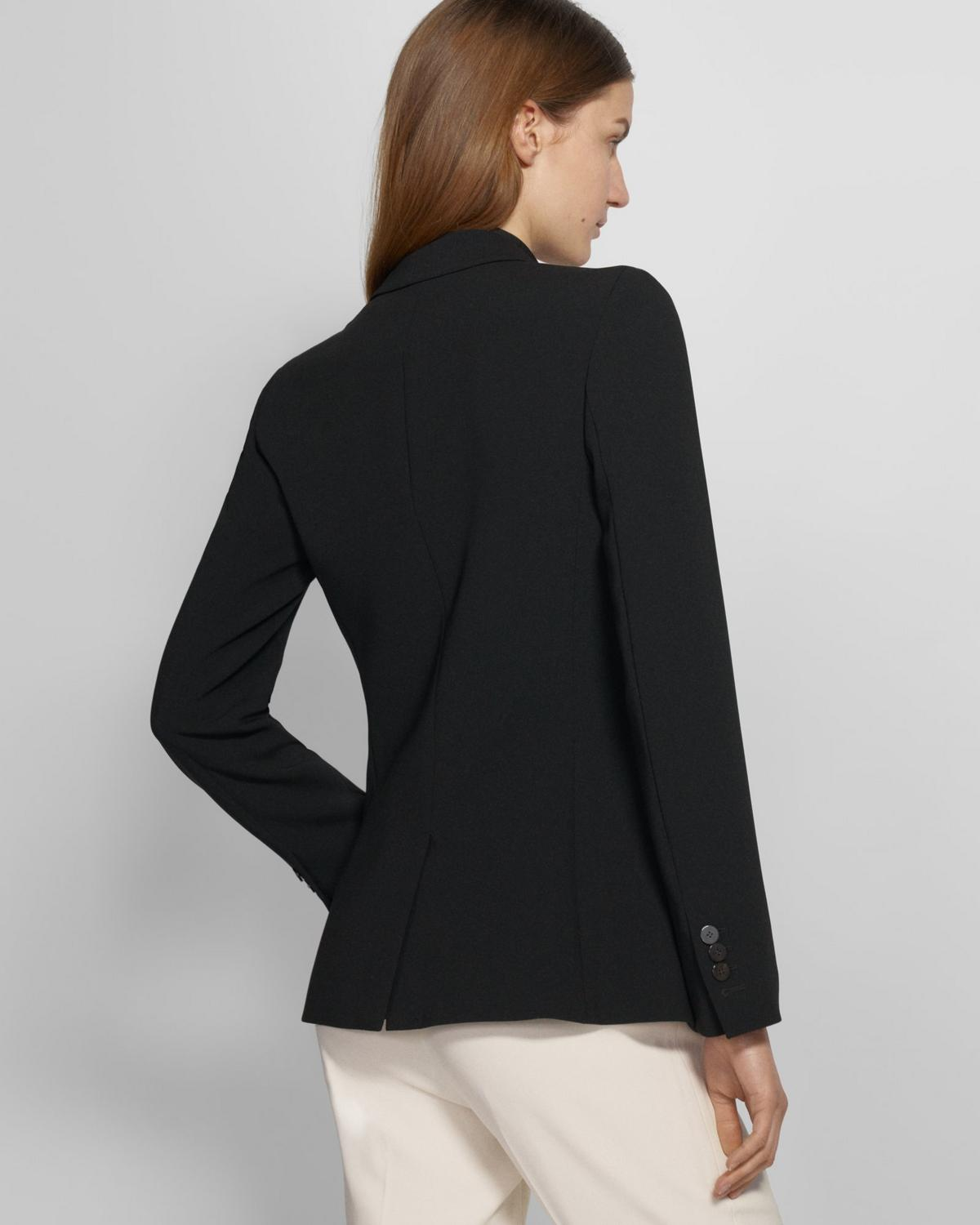 Staple Blazer in Crepe