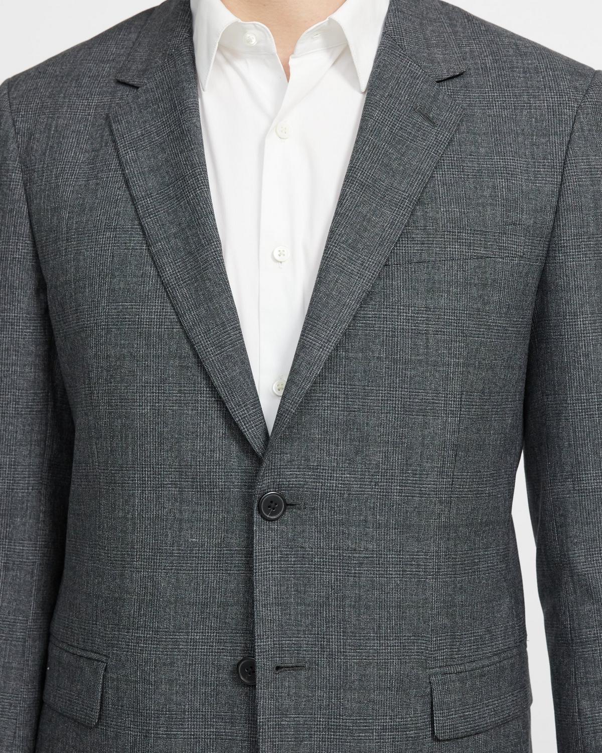 Chambers Blazer in Glen Plaid Wool