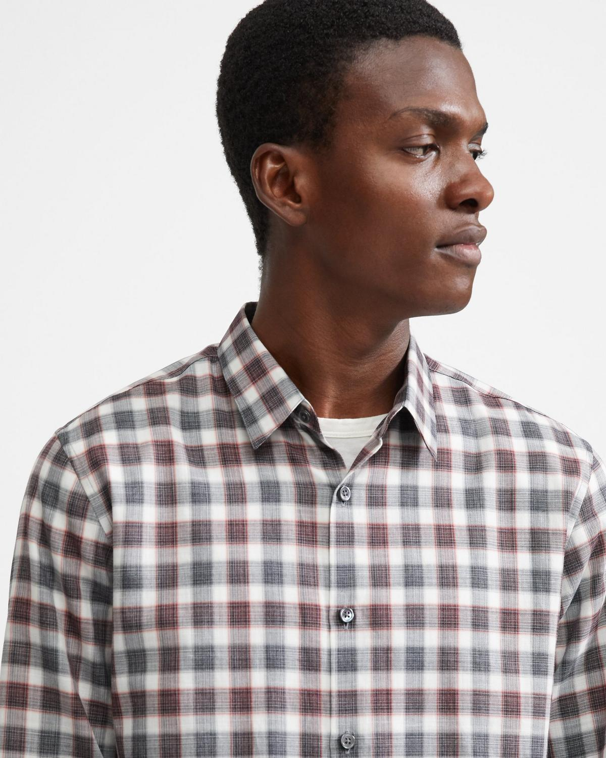 Cotton Check Irving Shirt
