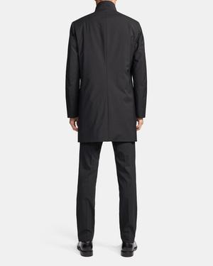 Belvin Coat in Wool Blend