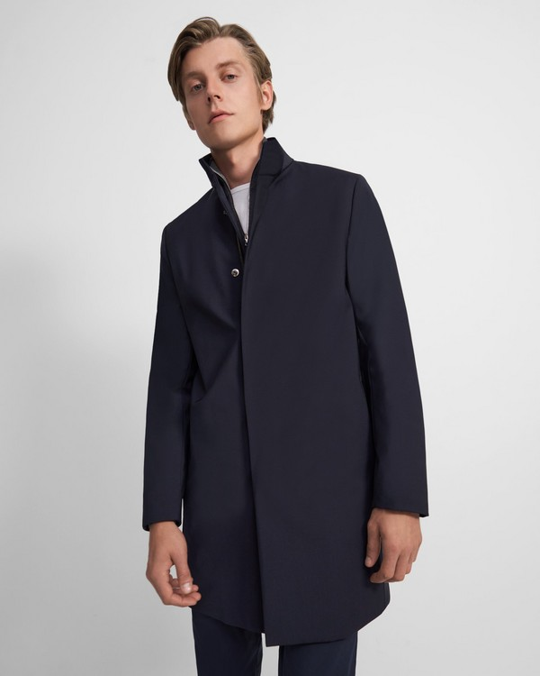Belvin Coat in Wool Blend