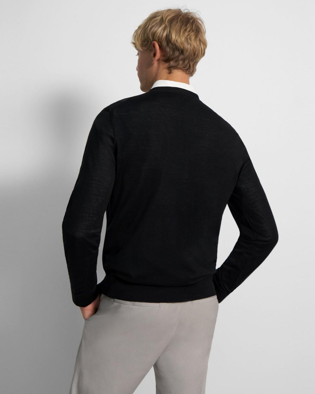 Regal Wool Crewneck Sweater