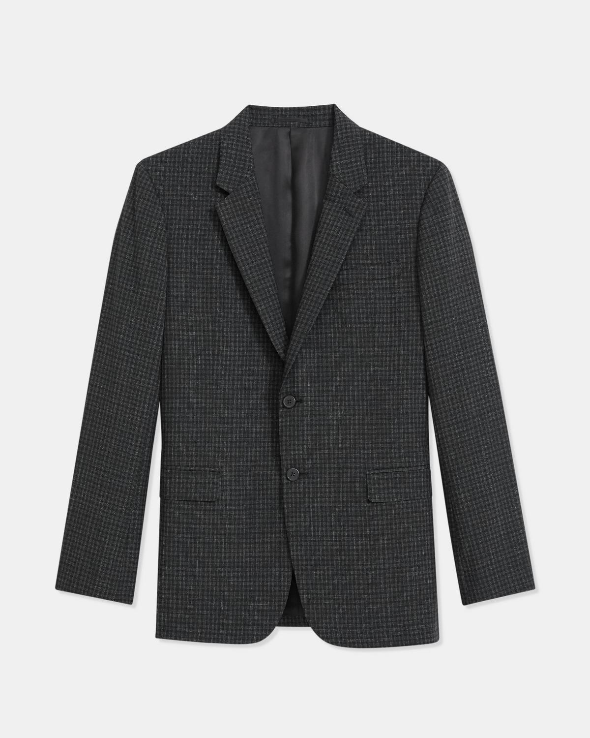 Chambers Blazer in Checkerboard Wool