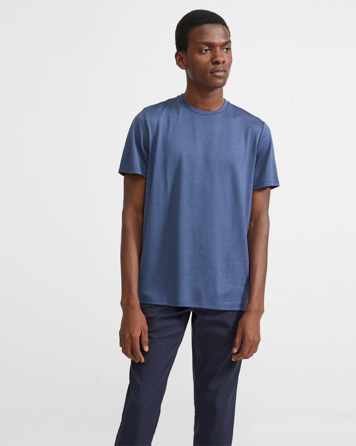 Clean Tee in Silk-Cotton