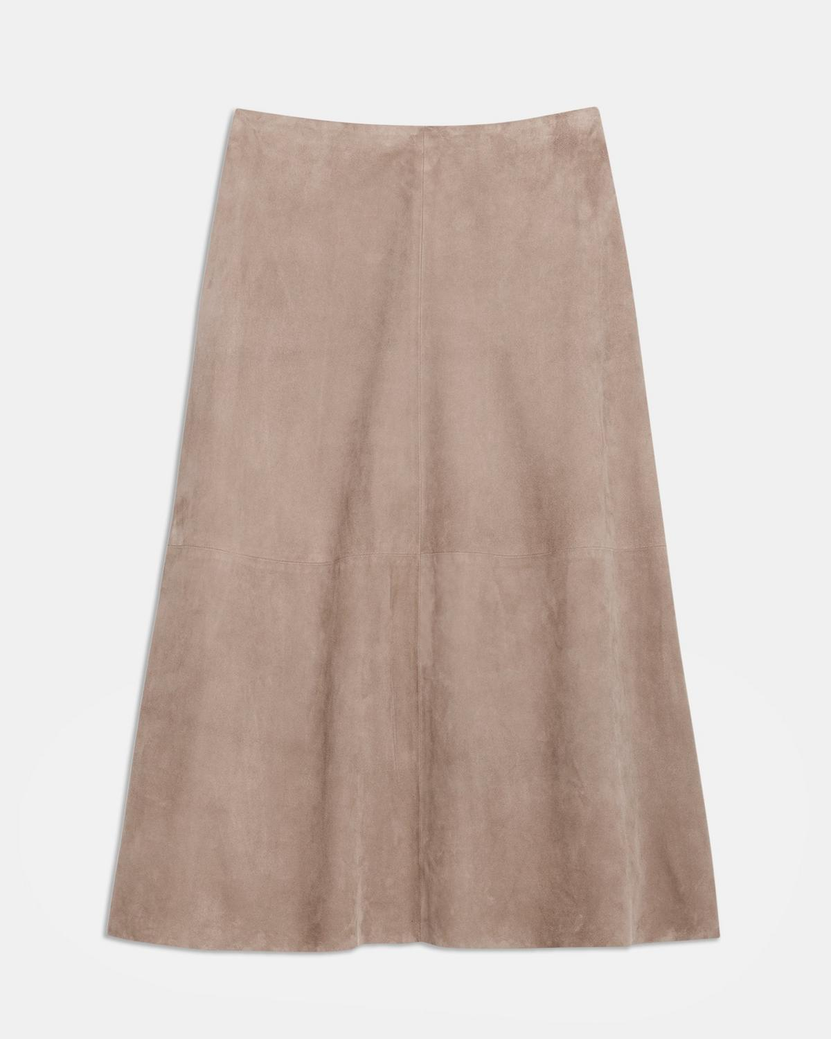 Suede Volume Skirt