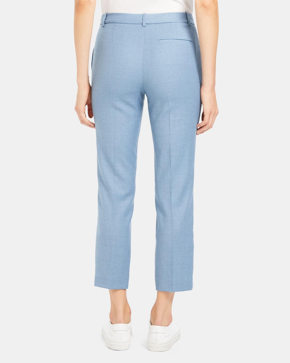 Treeca Pant in Sleek Flannel