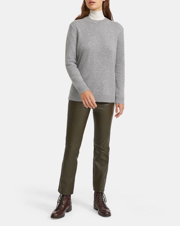 띠어리 캐시미어 크루넥 스웨터 - 4 컬러 Theory Relaxed Crewneck Sweater In Cashmere