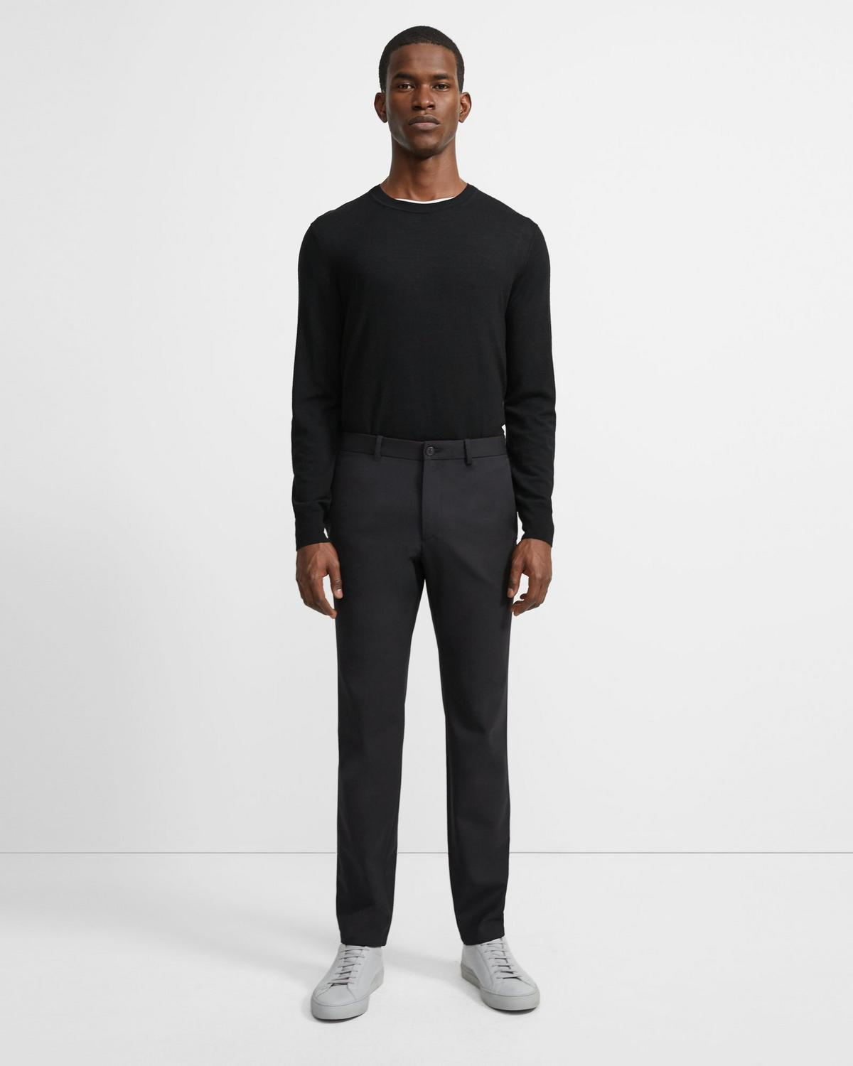 Stretch Wool Twill Slim-Straight Pant