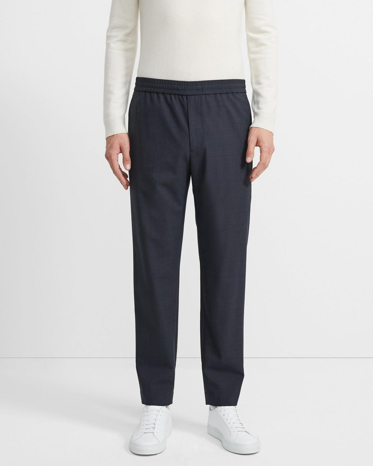 Wool Blend Luxe Jogger