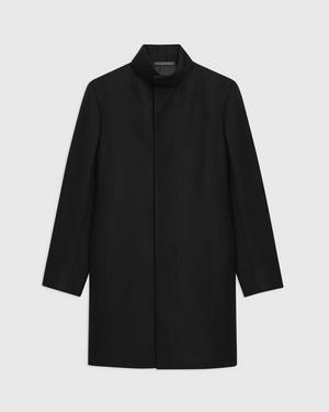 Belvin Coat in Traceable Wool Melton
