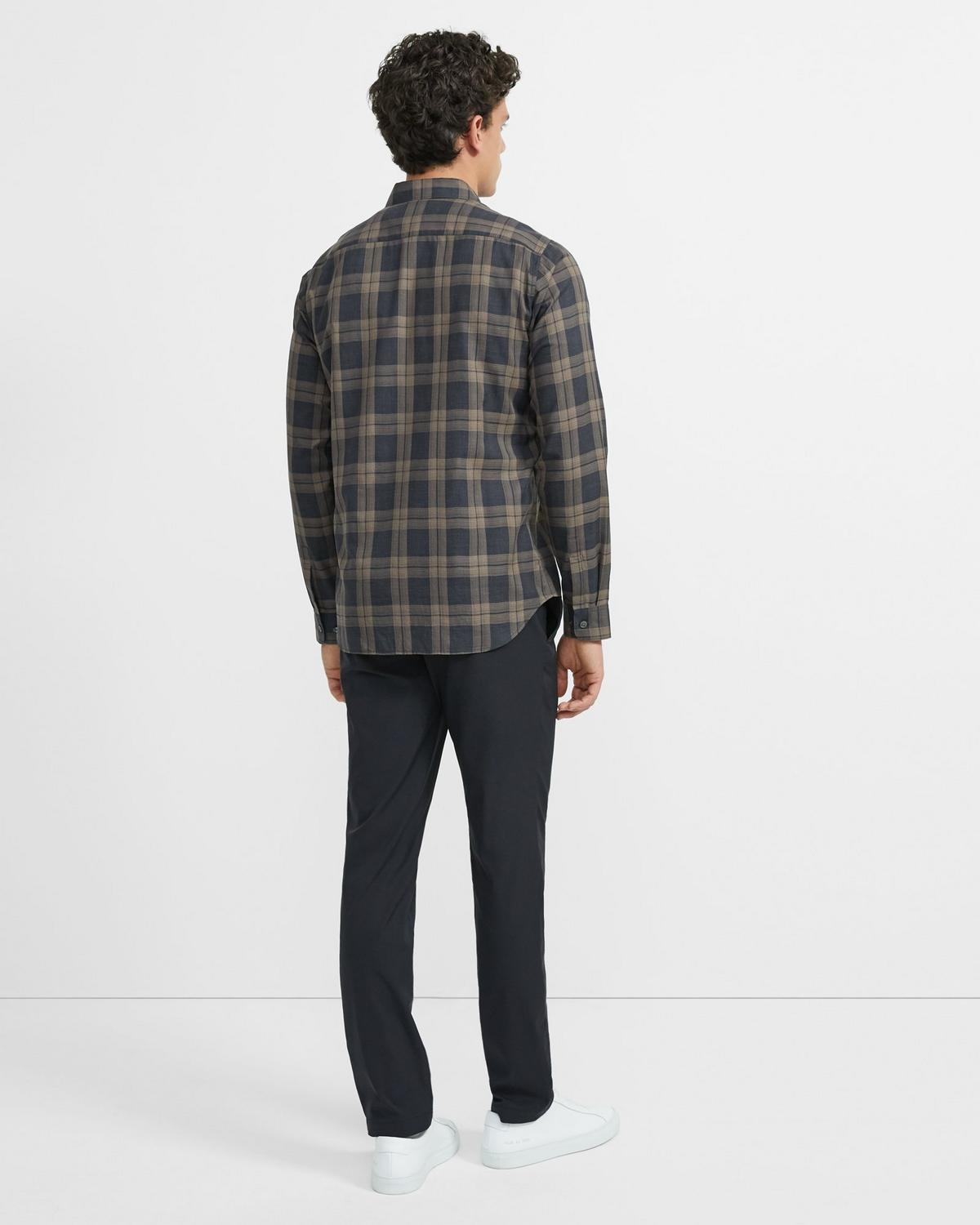 Phoenix Shirt in Plaid Cotton