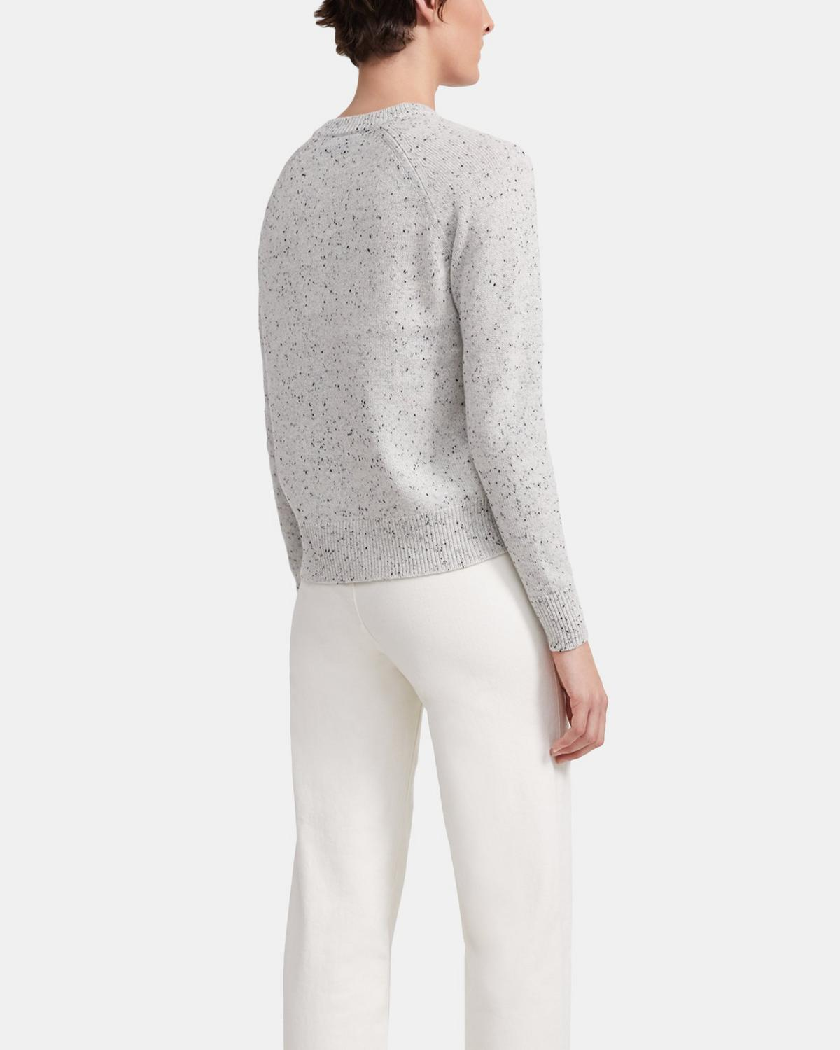 Donegal Cashmere Easy Crewneck Sweater